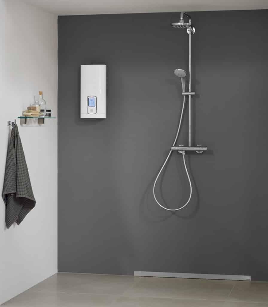Durchlauferhitzer für das Badezimmer